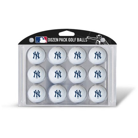 Team Golf MLB New York Yankees Golf Balls, 12 Pack