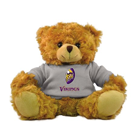 "Bleacher Creatures NFL 9"" Rally Men Hoodie Bear, Minnesota Vikings"