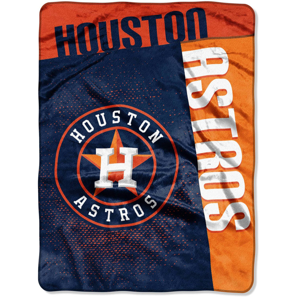 "MLB Houston Astros ""Strike"" 60"" x 80"" Raschel Throw"