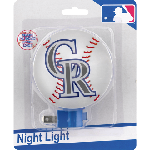 MLB Colorado Rockies Night Light