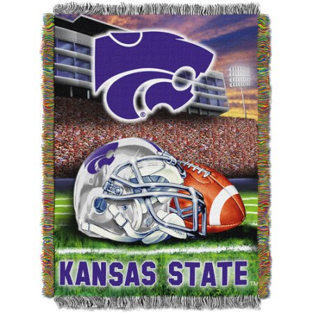 "NCAA 48"" x 60"" Tapestry Throw Home Field Advantage Series- Kansas State"
