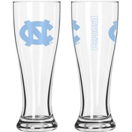 NCAA University of North Carolina Tar Heels 2-Pack Gameday Pilsner Set