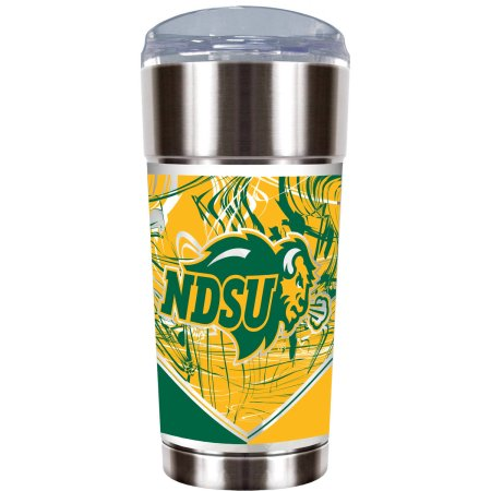 "NCAA North Dakota State Bison ""The EAGLE"" 24 oz Vacuum Insulated Stainless Steel Tumbler"