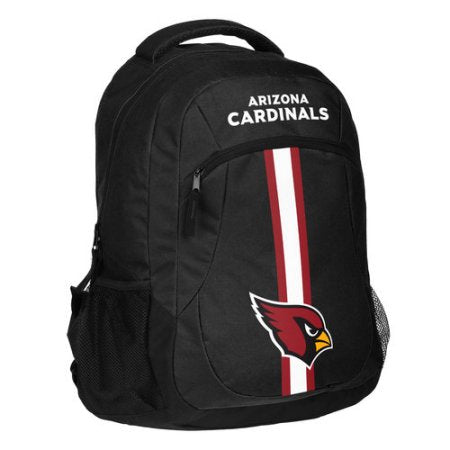 NFL Arizona Cardinals Action Stripe Logo Backpack