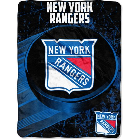 "NHL New York Rangers ""Ice Dash"" 46"" x 60"" Micro Raschel Throw Blanket"