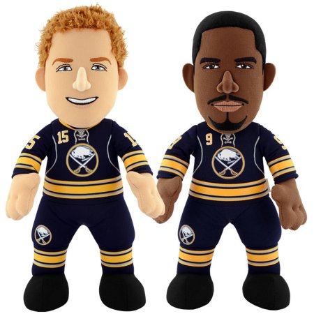 "Bleacher Creatures Dynamic Duo 10"" Plush Figures, Sabres Eichel and Kane"