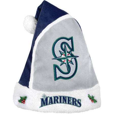 Forever Collectibles MLB Santa Hat - Seattle Mariners