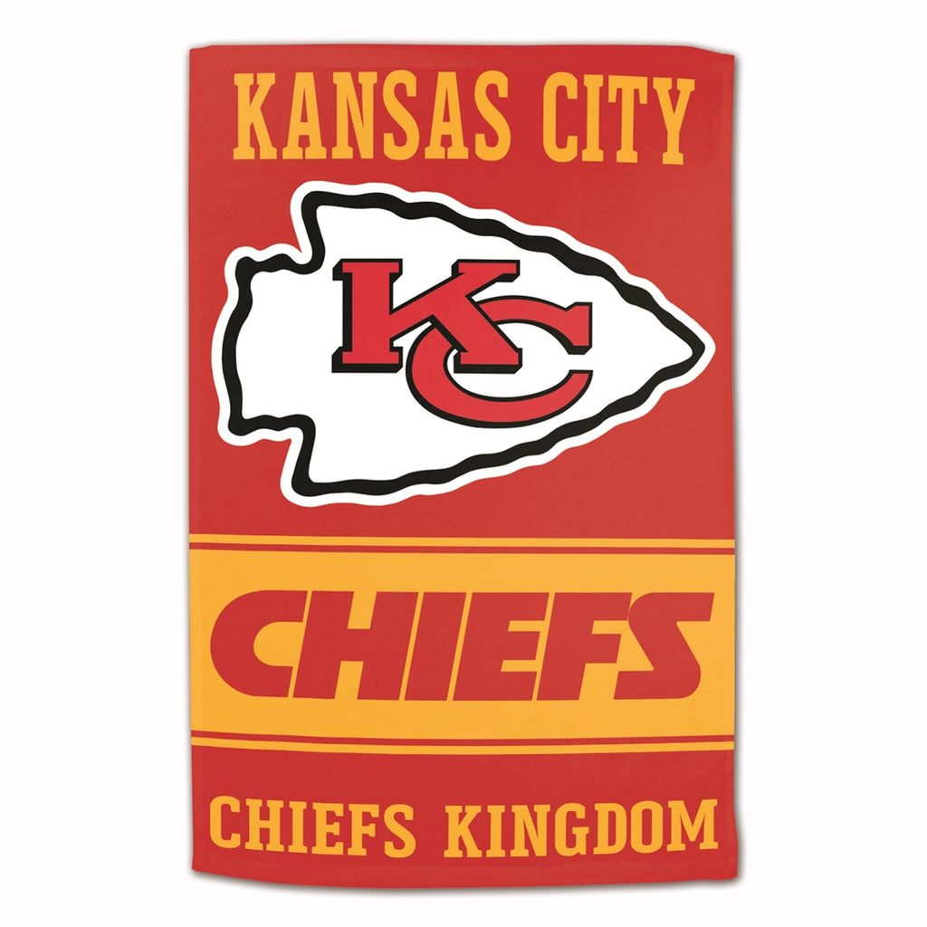 "NFL Kansas City Chiefs Sublimated Cotton Towel - 16"" x 25"""