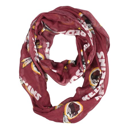Little Earth - NFL Sheer Infinity Scarf, Washington Redskins