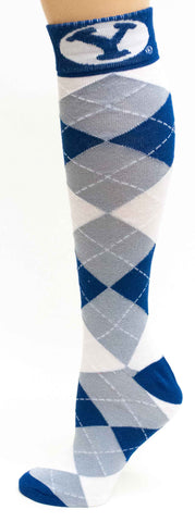 NCAA BYU Cougars Argyle Dress Socks
