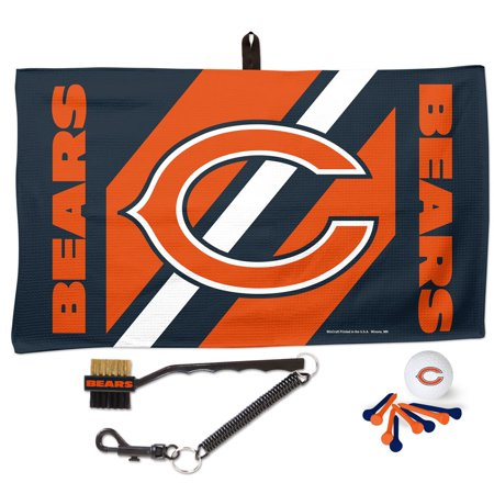 Chicago Bears WinCraft Waffle Towel Golf Gift Set - No Size