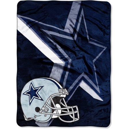 "NFL Dallas Cowboys 60"" x 80"" Oversized Micro Raschel Throw Blanket"