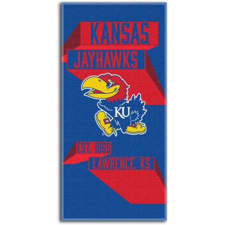 "NCAA Kansas Jayhawks ""Head Strong"" 30"" x 60"" Beach Towel"