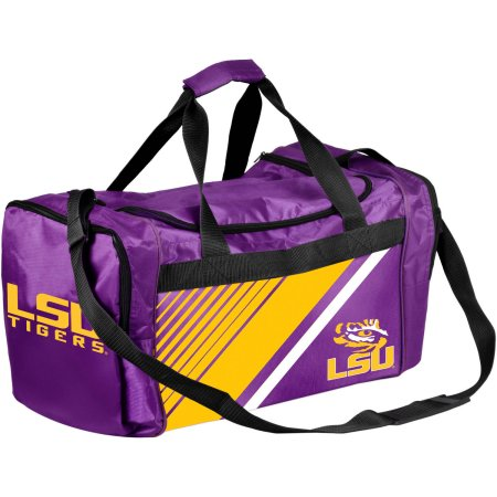NCAA Louisiana State LSU Tigers Border Stripe Duffle Bag
