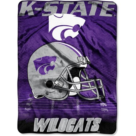 "Kansas State Wildcats 60"" x 80"" Oversized Micro Raschel Throw Blanket"