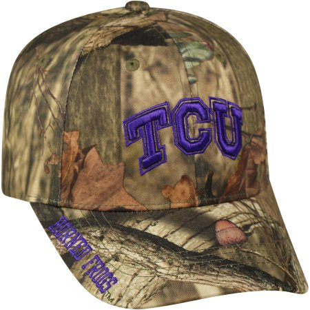 NCAA Men's TCU Horned Frogs Mossy Hat \ Cap