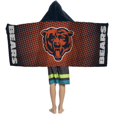 "NFL Chicago Bears ""Dots"" Youth Hooded Towel"