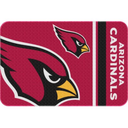 "NFL Arizona Cardinals 20"" x 30"" Round Edge Bath Rug"