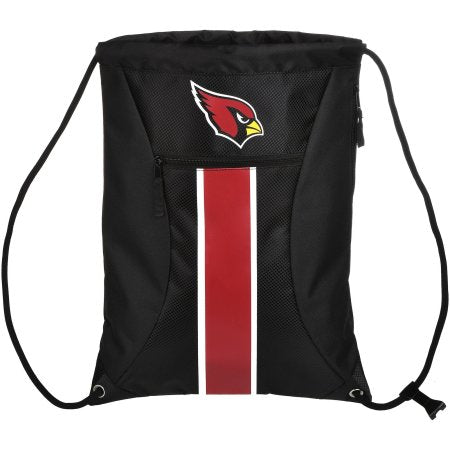 NFL Arizona Cardinals Big Stripe Drawstring Backpack