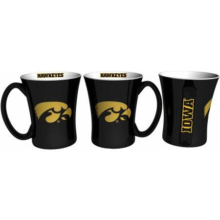 NCAA Iowa Hawkeyes Set of Two 14 oz Victory Mugs