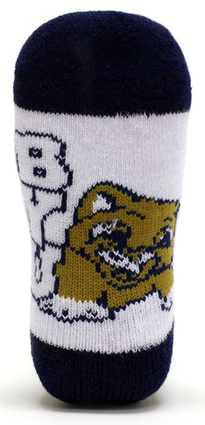 NCAA BYU Cougars Baby Quarter Socks