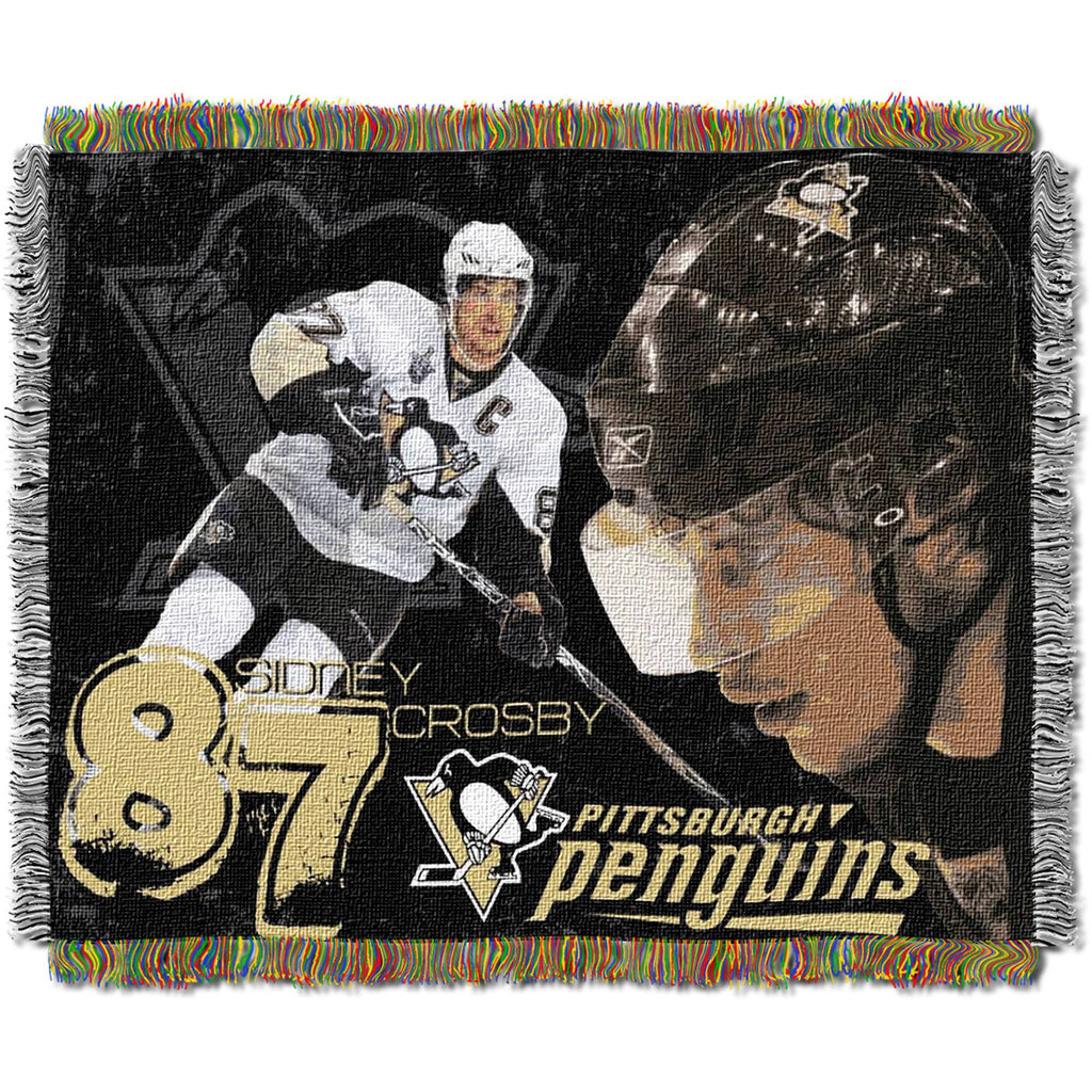 "NHL 48"" x 60"" Players Series Tapestry Throw, Sidney Crosby"