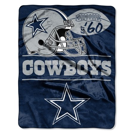 "NFL Dallas Cowboys ""Conference"" - Silk Touch Throw Blanket, 55"" x 70"""