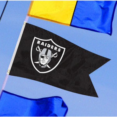 NFL Oakland Raiders Boat Flag