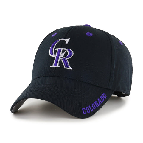MLB Colorado Rockies Frost Adjustable Hat