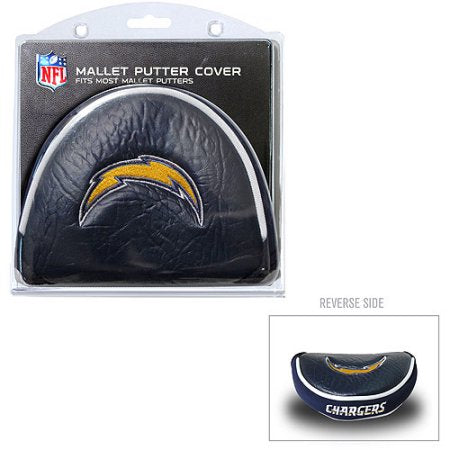 Team Golf NFL Los Angeles Chargers Golf Mallet Putter Cover
