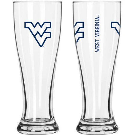 NCAA West Virginia University Mountaineers 2-Pack Gameday Pilsner Set