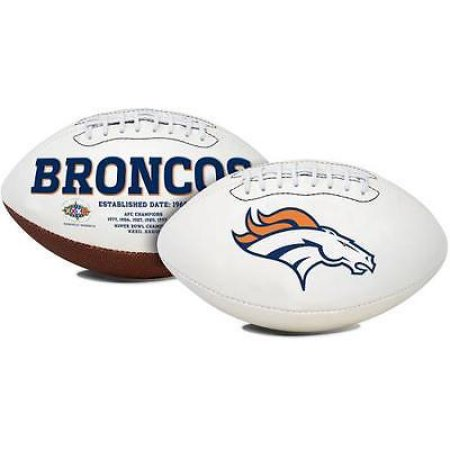 NFL Denver Broncos Signature Series Full-Size Football