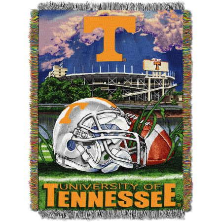 "NCAA 48"" x 60"" Tapestry Throw Home Field Advantage Series- Tennessee"