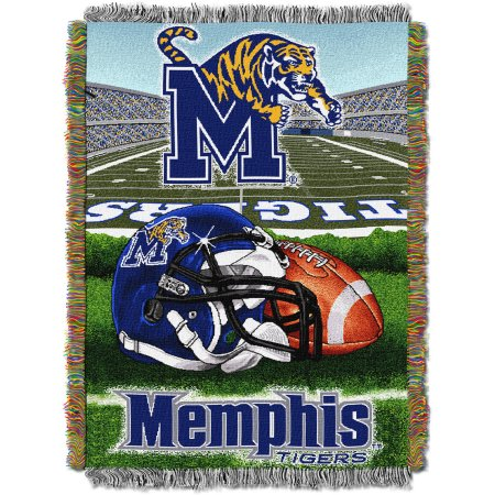 "NCAA 48"" x 60"" Tapestry Throw Home Field Advantage Series- Memphis"