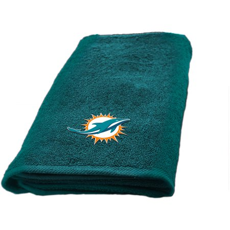 "NFL Miami Dolphins Decorative Bath Collection - Fingertip Towel 11"" x 18"""