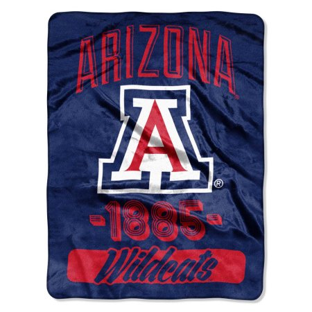 "Arizona Wildcats ""Varsity"" 46"" x 60"" Micro Raschel Throw Blanket"
