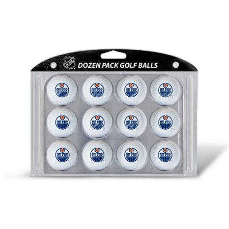 NHL Edmonton Oilers Golf Balls, 12 Pack