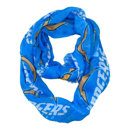 NFL Los Angeles Chargers Sheer Infinity Scarf - Little Earth
