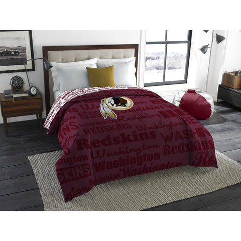 "NFL Washington Redskins ""Anthem"" Twin/Full Bedding Comforter"