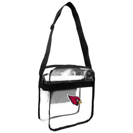 NFL Arizona Cardinals Clear Carryall Cross Body Bag
