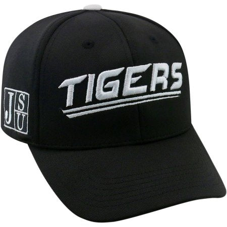 NCAA University of Jackson State Tigers Black Baseball Hat \ Cap