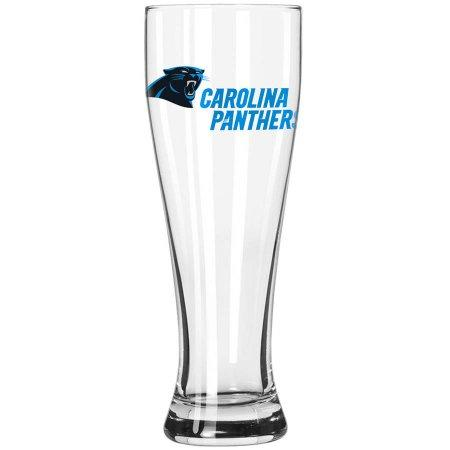 Boelter Brands NFL Carolina Panthers 23-Ounce Grand Pilsner with Full Color Team Logo