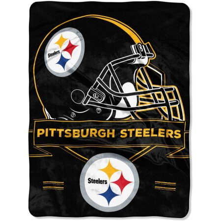 "NFL Pittsburgh Steelers ""Prestige"" 60"" x 80"" Raschel Throw"