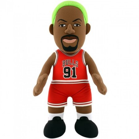 NBA CHICAGO BULLS DENNIS RODMAN 10 IN PLUSH