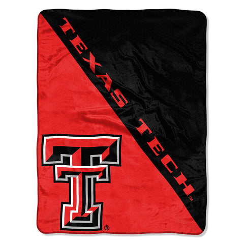 "NCAA Texas Tech Red Raiders ""Halftone"" 46""x 60"" Micro Raschel Throw Blanket"