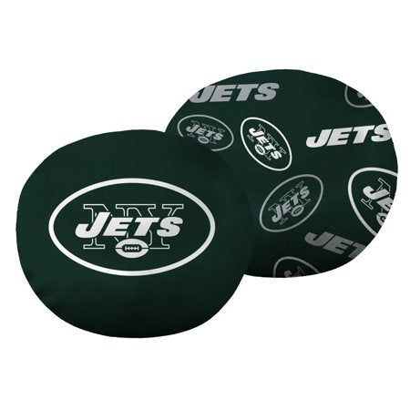 "NFL New York Jets 11"" Cloud Travel Pillow"