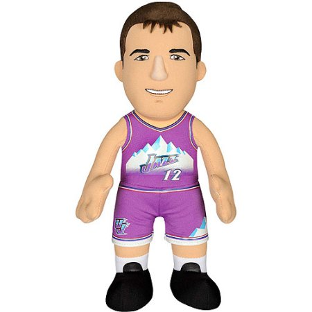"NBA Player 10"" Plush Doll Utah Jazz, John Stockton"