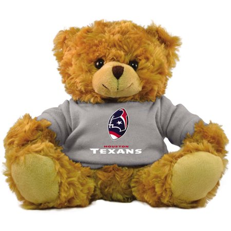 "Bleacher Creatures NFL 9"" Rally Men Hoodie Bear, Houston Texans"