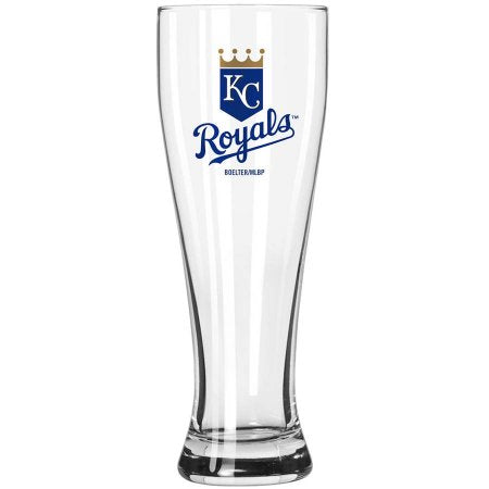 Boelter Brands MLB Kansas City Royals 23-Ounce Grand Pilsner with Full Color Team Logo