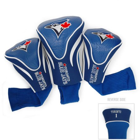 Team Golf MLB Toronto Blue Jays 3 Pack Contour Head Covers